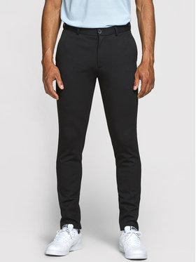 Jack&Jones Jack&Jones Spodnie materiałowe Marco Phil 12173623 Czarny Slim Fit