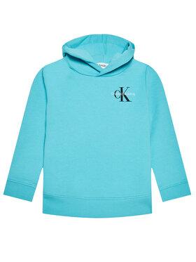 Calvin Klein Jeans Calvin Klein Jeans Pulóver Small Monogram IU0IU00164 Kék Regular Fit