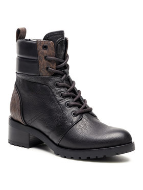 MICHAEL Michael Kors MICHAEL Michael Kors Trappers Bronte Ankle Boot 40R1BRMB7L Negru