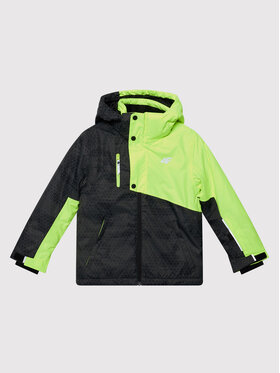4F 4F Μπουφάν για σκι JKUMN002A Κίτρινο Regular Fit