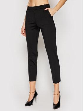 Pinko Pinko Kalhoty z materiálu Bello PE 21 BLK01 1G15LF 5872 Černá Regular Fit