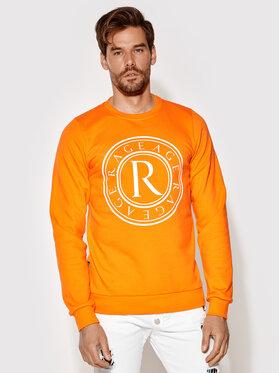 Rage Age Rage Age Sweatshirt Crewnec 2 Orange Slim Fit
