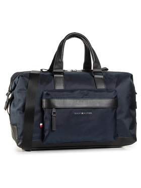 Tommy Hilfiger Tommy Hilfiger Torba Elevated Nylon Duffle AM0AM06495 Granatowy