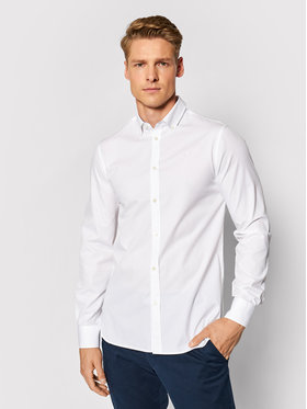 Trussardi Trussardi Košile 52C00211 Bílá Regular Fit