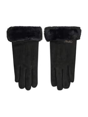 Liu Jo Liu Jo Dámske rukavice Guanto Efetto Scam 3F1076 T0300 Čierna
