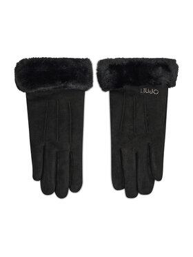 Liu Jo Liu Jo Дамски ръкавици Guanto Efetto Scam 3F1076 T0300 Черен