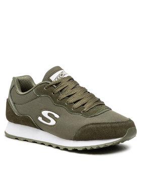 Skechers Skechers Sneakersy Vibe'In 155354/OLV Zielony
