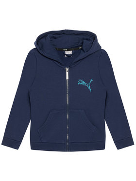 Puma Puma Sweatshirt Ka Full Zip 583237 Bleu marine Regular Fit