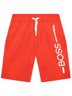 Boss Boss Szorty kąpielowe J24682 M Czerwony Regular Fit