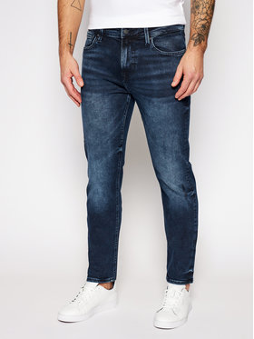 Guess Guess Jeansy Skinny Fit Angels M0BAN2 D4714 Granatowy Skinny Fit