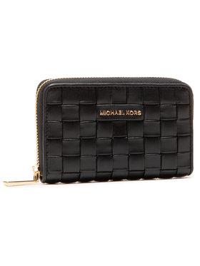 MICHAEL Michael Kors MICHAEL Michael Kors Velká dámská peněženka Jet Set 34S1GJ6D0T Černá