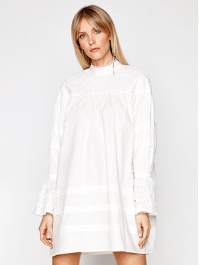 One Teaspoon One Teaspoon Chemisier Eternal Lace 23509 Blanc Oversize