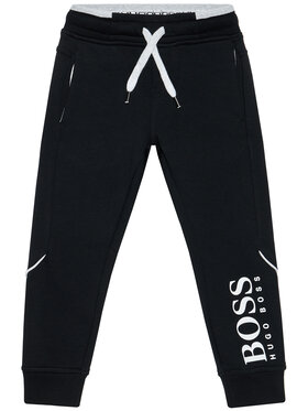 Boss Boss Παντελόνι φόρμας J24M35 S Μαύρο Regular Fit