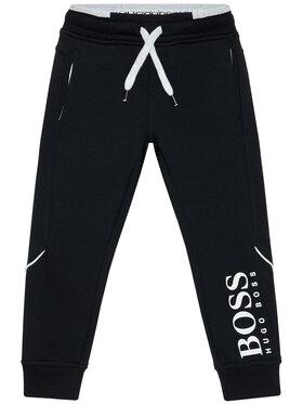 Boss Boss Teplákové nohavice J24M35 S Čierna Regular Fit