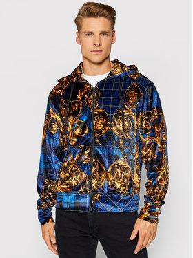Versace Jeans Couture Versace Jeans Couture Bluza Print Tartan Bar 71GAI3Z6 Niebieski Regular Fit