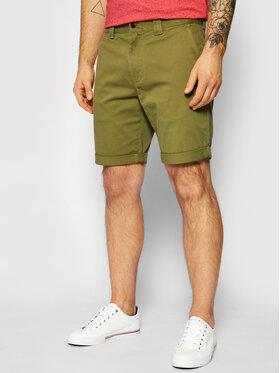 Tommy Jeans Tommy Jeans Stoffshorts Scanton DM0DM11076 Grün Slim Fit