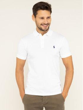 Polo Ralph Lauren Polo Ralph Lauren Polo marškinėliai 710541705 Balta Slim Fit