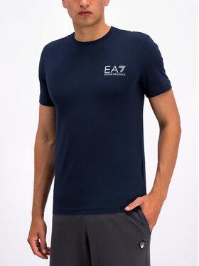 EA7 Emporio Armani EA7 Emporio Armani Marškinėliai 3GPT08 PJ03Z 1554 Tamsiai mėlyna Regular Fit
