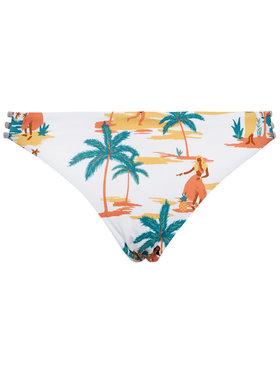 Roxy Spodný diel bikín Printed Beach Classic Full Bottom ERJX403872 Biela