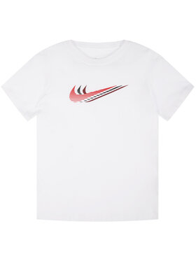 NIKE NIKE Marškinėliai Youth Unisex Jeune CU4572 Balta Regular Fit