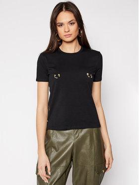 Elisabetta Franchi Elisabetta Franchi T-shirt MA-18N-11E2-V120 Noir Regular Fit