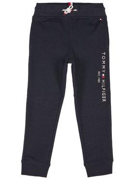 Tommy Hilfiger Tommy Hilfiger Spodnie dresowe Essential Sweatpants KB0KB05753 Granatowy Slim Fit