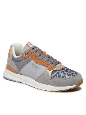 Pepe Jeans Pepe Jeans Sneakersy Verona Pro Touch PLS31271 Šedá