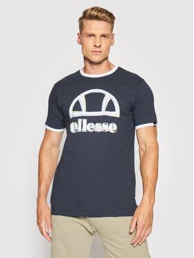 Ellesse Ellesse Marškinėliai Aggis Tee SHJ11924 Tamsiai mėlyna Regular Fit