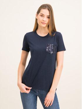 Lauren Ralph Lauren Lauren Ralph Lauren T-Shirt 200773554 Granatowy Regular Fit