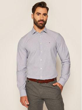 Tommy Hilfiger Tailored Tommy Hilfiger Tailored Camicia Stripe Classic TT0TT07598 Blu scuro Slim Fit