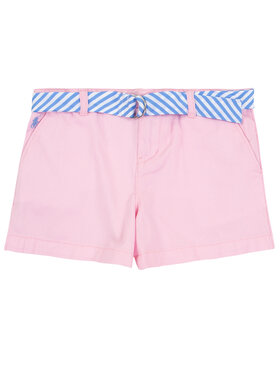 Polo Ralph Lauren Polo Ralph Lauren Pantalon scurți din material Spring II 311786044 Roz Regular Fit