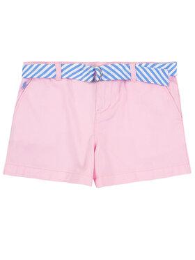 Polo Ralph Lauren Polo Ralph Lauren Шорти от плат Spring II 311786044 Розов Regular Fit