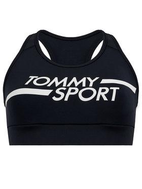 Tommy Sport Tommy Sport Сутиен-топ Mid Logo S10S100451 Тъмносин