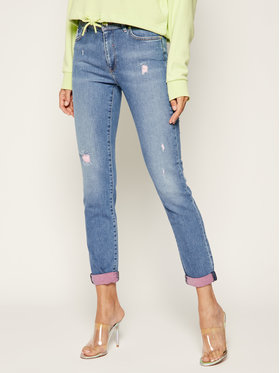 Trussardi Jeans Trussardi Jeans Skinny Fit Farmer 56J00002 Kék Skinny Fit