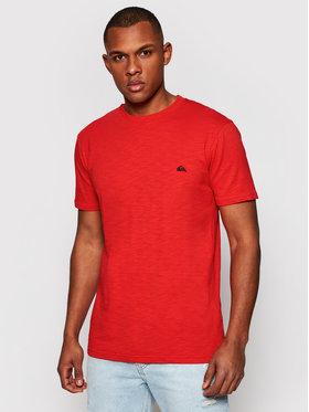 Quiksilver Quiksilver T-Shirt Witton EQYKT04118 Červená Regular Fit