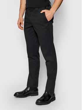 Dickies Dickies Spodnie materiałowe Work DK0WE872 Czarny Slim Fit