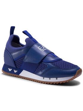 EA7 Emporio Armani EA7 Emporio Armani Sneakersy XSX003 XOT04 N849 Granatowy