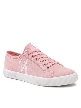 Calvin Klein Jeans Calvin Klein Jeans Tenisky Vulcanized Sneaker Laceup Co YW0YW00402 Ružová