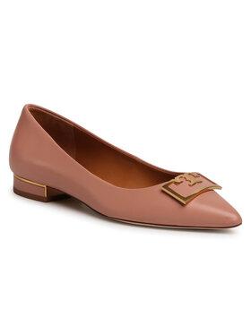 Tory Burch Tory Burch Обувки Gigi 20mm Pointy Toe Flat 65187 Розов