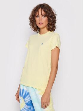 Polo Ralph Lauren Polo Ralph Lauren T-Shirt 211847073006 Żółty Regular Fit