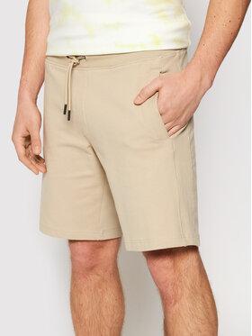 Guess Guess Sportske kratke hlače Nigel M1GD54 K6ZS1 Bež Slim Fit