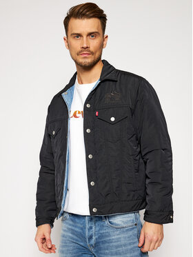 Levi's® Levi's® Jeansová bunda DISNEY A0609-0001 Modrá Regular Fit