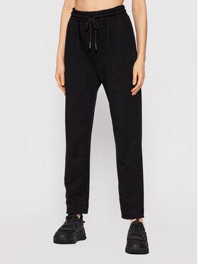 Imperial Imperial Spodnie dresowe P3D0CBF Czarny Regular Fit