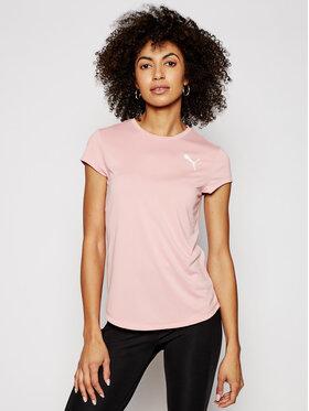 Puma Puma Technisches T-Shirt Active 586857 Rosa Regular Fit