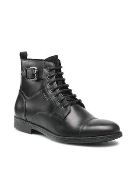 Geox Geox Μπότες U Jaylon A U16Y7A-000CL C9999 Μαύρο