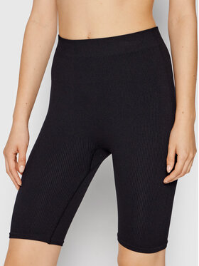 Vero Moda Vero Moda Sportovní kraťasy Eve 10252055 Černá Slim Fit