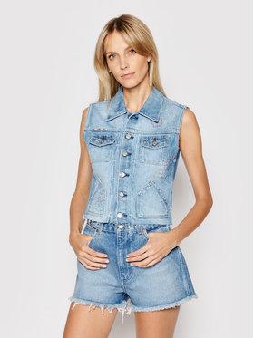Pepe Jeans Pepe Jeans Gilet Elsie Floral PL401927 Bleu marine Regular Fit