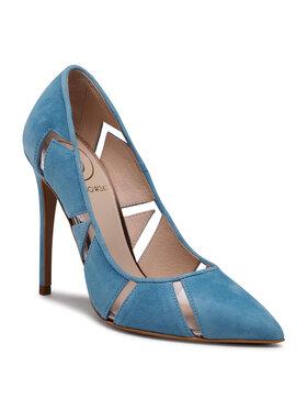 Baldowski Baldowski Pantofi cu toc subțire D03423-E160-003 Albastru