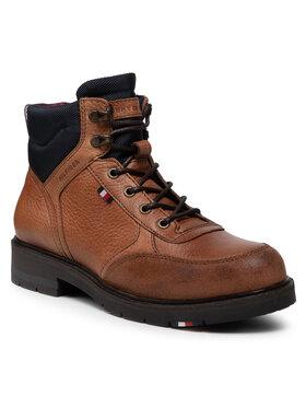 Tommy Hilfiger Tommy Hilfiger Kozaki Warm Classic Sneakers Cut FM0FM03818 Brązowy