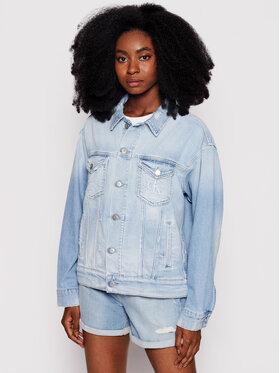 Calvin Klein Jeans Calvin Klein Jeans Jeansová bunda J20J216528 Modrá Relaxed Fit